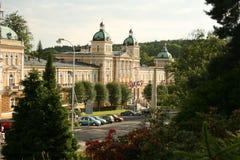 Vista al sanatorio. Marienbad immagini stock libere da diritti