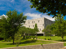Vista Alegre park in Santiago de Compostela stock images