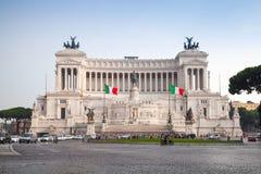 Vista all'aperto del della Patria, Roma, Italia di Altare Fotografia Stock