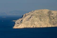 Vista all'isola Prvic Fotografie Stock Libere da Diritti