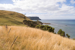 Vista all'oceano Fotografie Stock Libere da Diritti