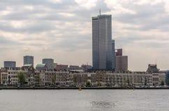 Vista alla costruzione più alta nei Paesi Bassi fotografia stock