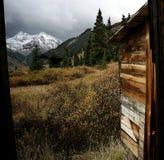 Vista alla forcella di Anamas, Colorado Fotografia Stock Libera da Diritti