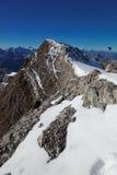 Vista alla sommità di Vrenelisgärtli (poco giardino di Verena), alpi svizzere, Svizzera, Europa Fotografia Stock Libera da Diritti