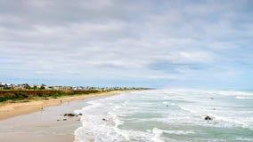 Vista alla spiaggia di Middleton Fotografie Stock