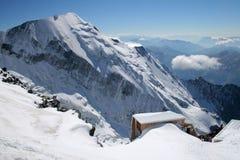 Vista alpina Fotografia Stock Libera da Diritti