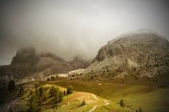 Vista alpina Fotografia Stock