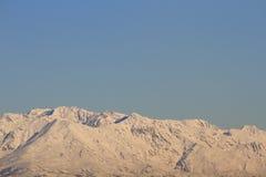 Vista alpina Immagini Stock Libere da Diritti