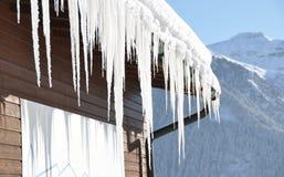 Vista alpina maestosa Immagine Stock Libera da Diritti