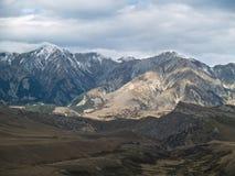 Vista alpina scenica Fotografie Stock