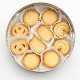 Vista ambientale, biscotti in un cerchio immagine stock