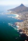 Vista ambientale di Città del Capo fotografie stock