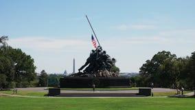 Vista amplia del monumento de Iwo Jima