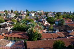 Vista a Antalya, Turchia Fotografia Stock