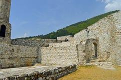 A vista ao castelo no Travnik Foto de Stock Royalty Free