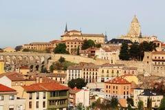 Vista ao centro de Segovia, Espanha Imagens de Stock
