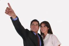 Vista ao futuro Imagens de Stock Royalty Free