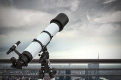 Vista ao futuro rendição 3d Foto de Stock Royalty Free