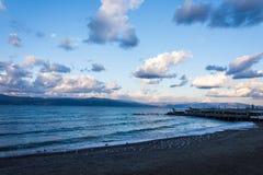 vista ao mar da costa Fotografia de Stock Royalty Free