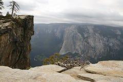 Vista ao parque nacional de Yosemite Foto de Stock