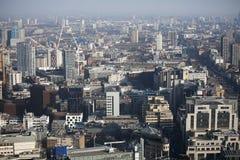 Vista aérea de Londres del edificio del Walkietalkie en la calle de 20 Fenchurch Imagen de archivo libre de regalías