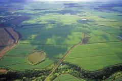 Vista aérea de Maui, Hawaii Foto de archivo libre de regalías