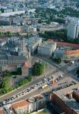 Vista areale di Berlino Fotografie Stock