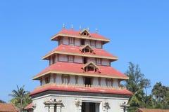 Vista arquitetónica do templo na Índia sul fotos de stock royalty free