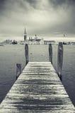 Vista artística de Venecia, Italia Foto de archivo libre de regalías