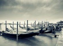 Vista artistica di Venezia, Italia Immagine Stock