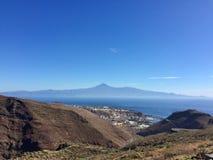 vista asombrosa de la isla de Tenerife Fotos de archivo libres de regalías