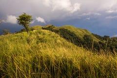 Vista asombrosa del belud Sabah del kota del bongol del bukit foto de archivo libre de regalías