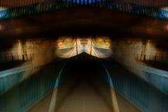 Vista astratta del tunnel Immagine Stock