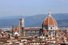 Vista através de Florença, Itália Foto de Stock