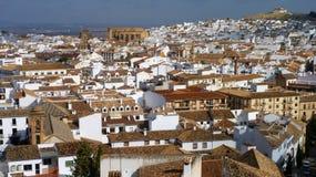 Vista através de Spanish Town de Antequera Imagem de Stock Royalty Free