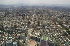 A vista através de Taipei, captial de Formosa fotografia de stock royalty free