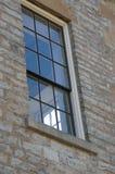 Vista através de uma janela através de uma janela Imagens de Stock Royalty Free