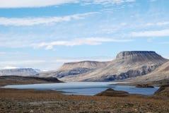 Vista attraverso il lago Ekblaw Immagine Stock Libera da Diritti