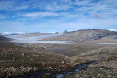 Vista attraverso il lago Ekblaw Fotografie Stock Libere da Diritti