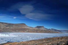 Vista attraverso il lago Ekblaw all'est Fotografie Stock Libere da Diritti