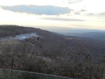 Vista attraverso la valle Fotografie Stock