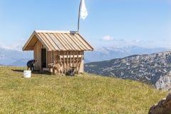 Vista austriaca del paesaggio Fotografia Stock