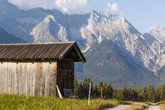 Vista austriaca del paesaggio Fotografie Stock Libere da Diritti