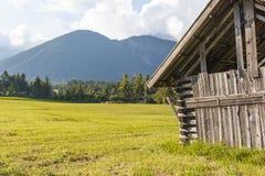 Vista austriaca del paesaggio Immagini Stock Libere da Diritti