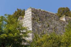 Vista austriaca del paesaggio della città Fotografia Stock Libera da Diritti