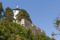Vista austriaca del paesaggio della città Fotografia Stock