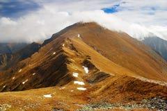 Vista autunnale dalle montagne del rohace Immagini Stock Libere da Diritti