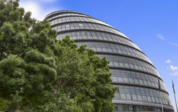 Vista ayuntamiento Londres imagen de archivo