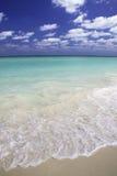 Vista azul do Cararibe foto de stock royalty free