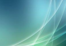 Vista background. Light lines on blue background Stock Images
